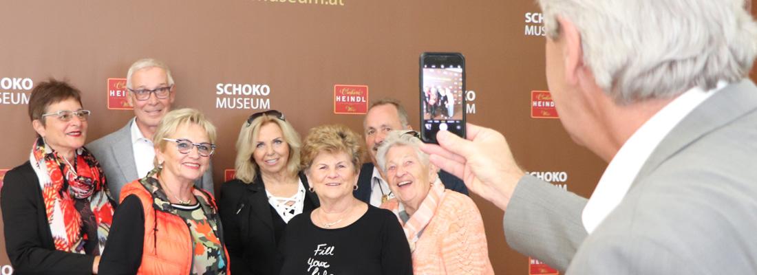 Seniorengruppen im Schokomuseum Wien sind herzlichst willkommen