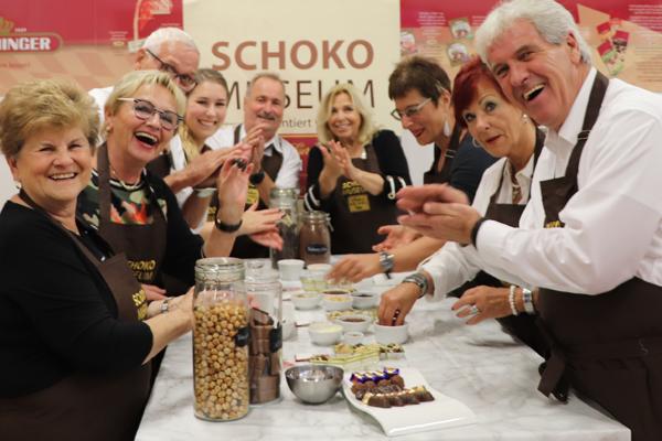 Senioren Workshop und Führung im Schokomuseum Wien