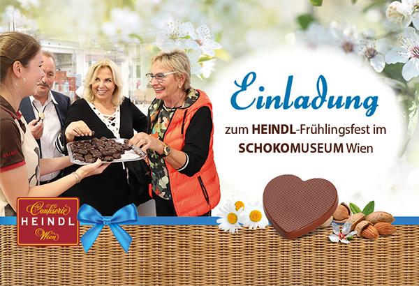 Frühlingsfest der Confiserie Heindl im Schokomuseum am 23. März 2019