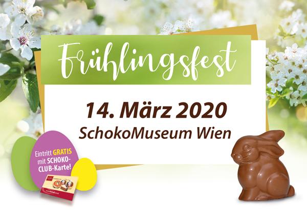 Heindl Frühlingsfest im SchokoMuseum Wien am 14. März 2020